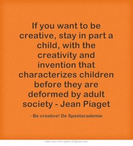 jean piaget creativity