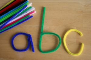 Pipe-Cleaner-Letters