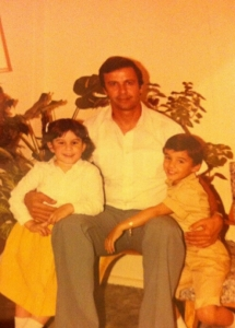 wael daddy and me