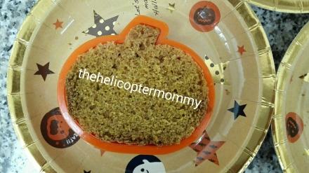 halloween cutter cake