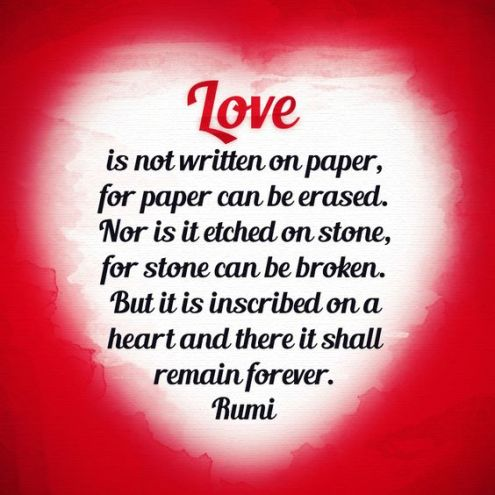 rumi on love